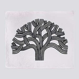 Oakland Tree Throw Blanket