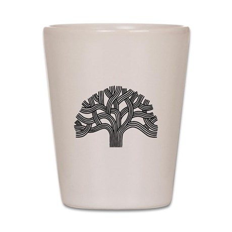 Oakland Tree Shot Glass
