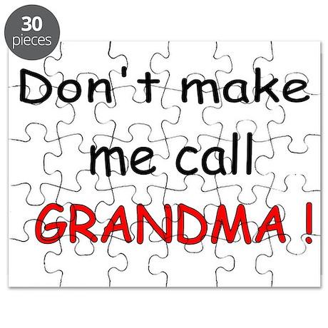 call GRANDMA! Puzzle