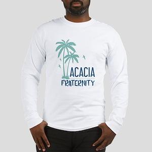 Acacia Palm Tree Long Sleeve T-Shirt