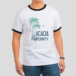 Acacia Palm Tree Ringer T