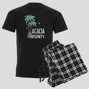 Acacia Palm Tree Men's Dark Pajamas