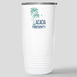 Acacia Palm Tree 16 oz Stainless Steel Travel Mug