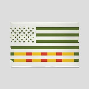 Vietnam Veteran Flag Magnets