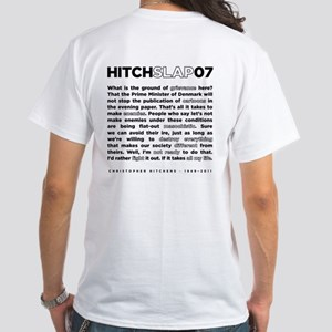 Christopher Hitchens Hitchslap 07 Black T-Shirt