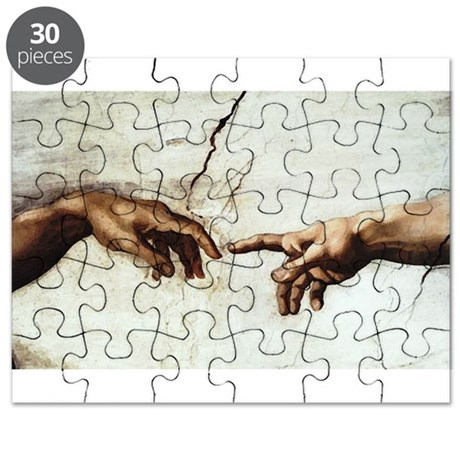 Creation of Man Puzzle
