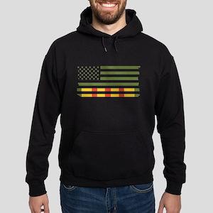 Vietnam Veteran Flag Sweatshirt