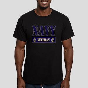Navy Veteran Block T-Shirt