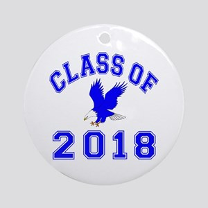 Class Of 2018 Eagle Ornament (Round)