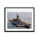 USS BRONSTEIN Framed Panel Print