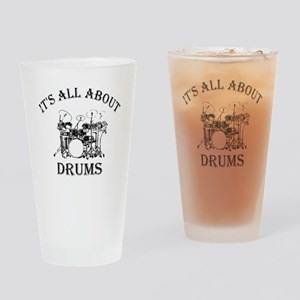 DRUMS Drinking Glass