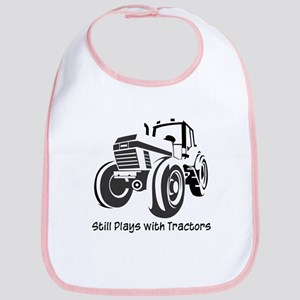 Still Plays with Tractors Bib