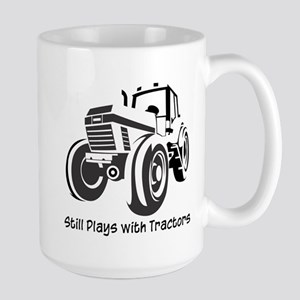 Still Plays with Tractors Large Mug