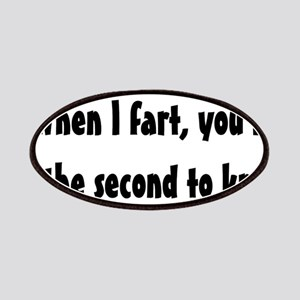 When I fart Patches