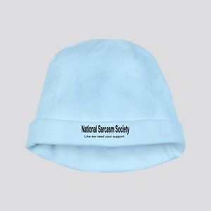 National Sarcasm Society ... baby hat