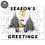 Christmas Greetings Puzzle