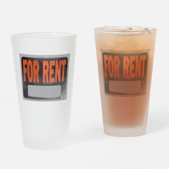 For Rent Drinking Glass