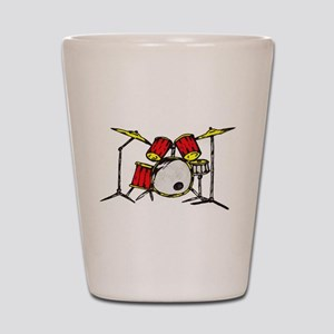 Drum Set Shot Glass