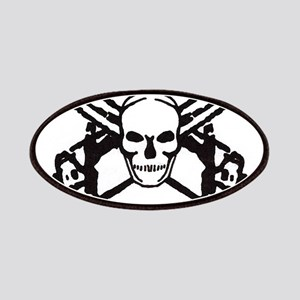 Skull and Chainsaws Patches