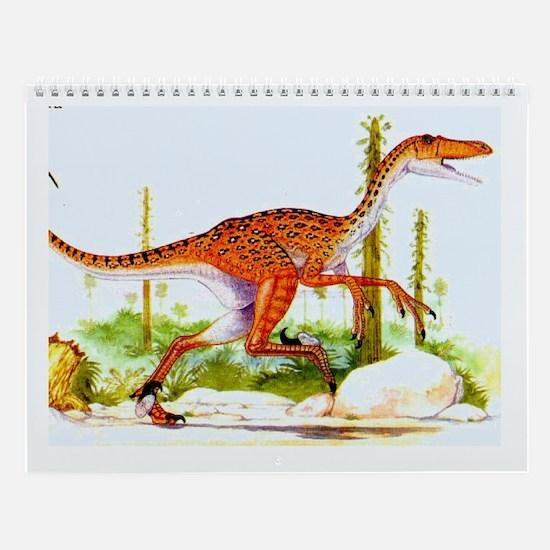 Velociraptor Wall Calendar
