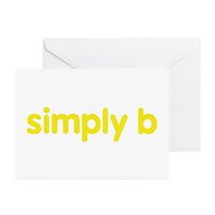 simply b Greeting Cards (Pk of 20)