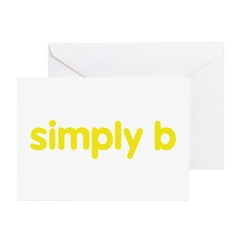 simply b Greeting Cards (Pk of 10)