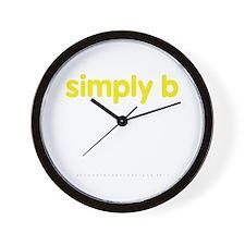simply b Wall Clock