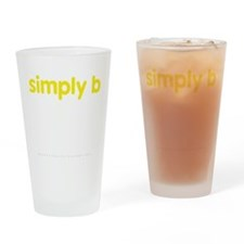 simply b Drinking Glass