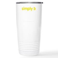 simply b Stainless Steel Travel Mug