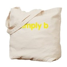 simply b Tote Bag