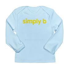 simply b Long Sleeve Infant T-Shirt