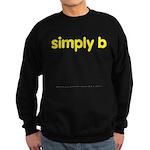 simply b Sweatshirt (dark)