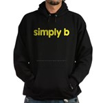 simply b Hoodie (dark)