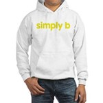 simply b Hooded Sweatshirt