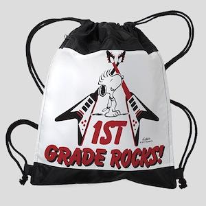 Peanuts: First Grade Rocks Drawstring Backpack