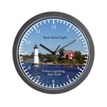 Rock Island Lighthouse St. Lawrence Wall Clock
