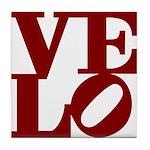 Velo Love Tile Coaster