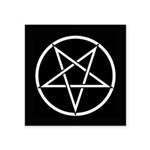 Pentagram Square Sticker 3