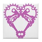 Love my Bike Tile Coaster