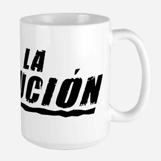 Viva la Evolucion Large Mug