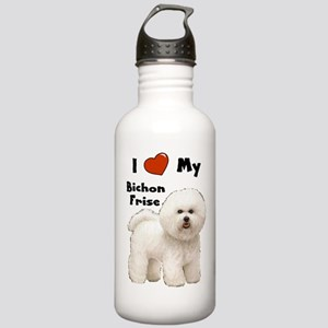 I Love My Bichon Frise Stainless Water Bottle 1.0L
