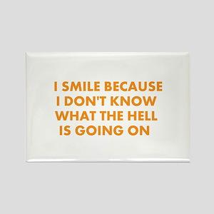 I smile merchandise Rectangle Magnet