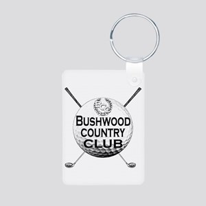 Bushwood Golf Aluminum Photo Keychain