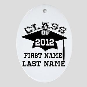 Customizable Senior Ornament (Oval)