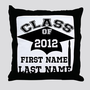 Customizable Senior Throw Pillow