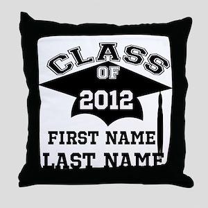 Customizable Senior Throw Pillow
