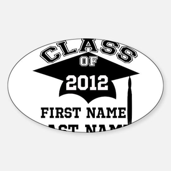 Customizable Senior Sticker (Oval)