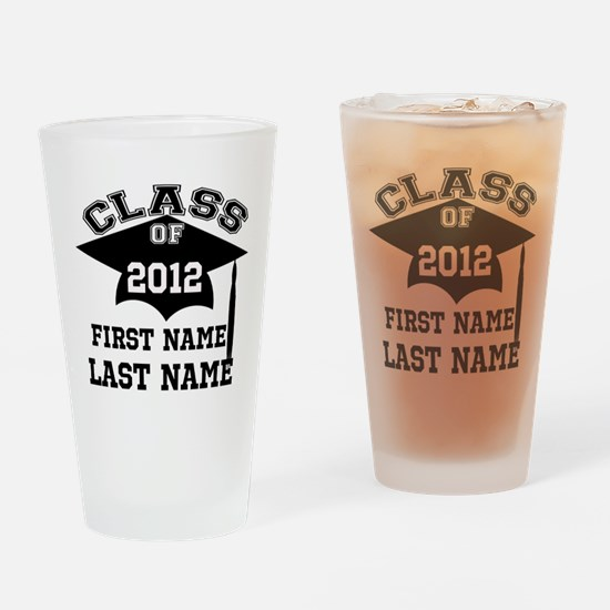 Customizable Senior Drinking Glass