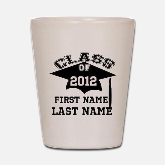Customizable Senior Shot Glass