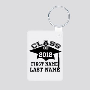 Customizable Senior Aluminum Photo Keychain
